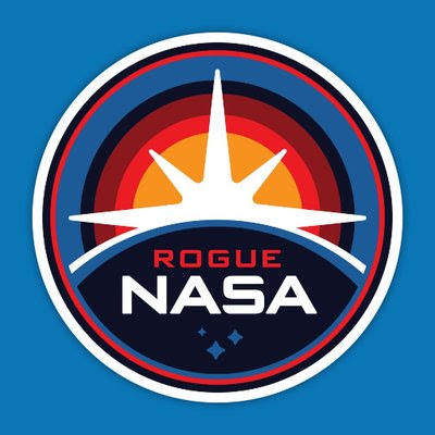 Rogue NASA on Twitter
