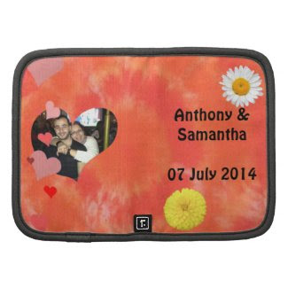 Hobo Tye & Dye Folio mini Wedding Organizers