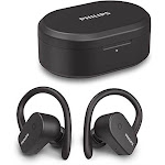 PHILIPS A5205BK/00 TWS SPORTS EARBUDS BUILT-IN MIC 6-MM DRIVERS