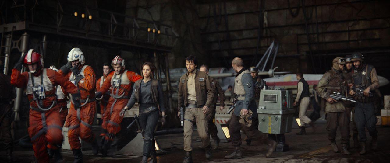 Rogue One - Uma História Star Wars : Foto Diego Luna, Felicity Jones