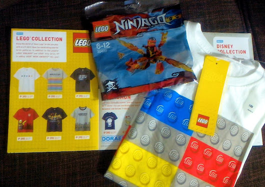 Uniqlo Lego Tshirt plus Lego toy Promo - Mommy Levy