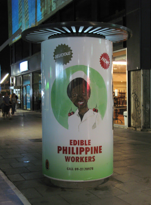 Roee Rosen, Edible Philippine Workers