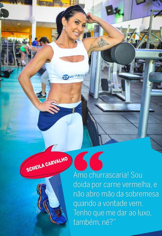 Scheila Carvalho (Foto: Arte: Eduardo Garcia)