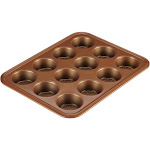 Ayesha Curry Bakeware 12-Cup Muffin Pan - Copper
