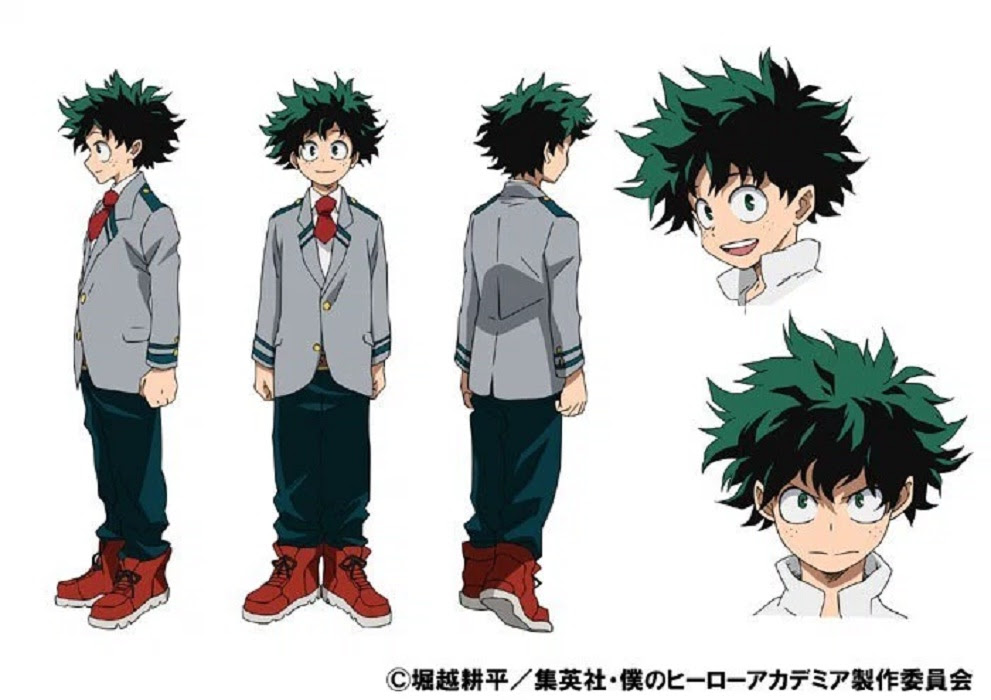 Resultado de imagen para midoriya boku no hero