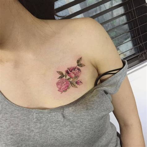 flower chest tattoos designs ideas meaning tattoos