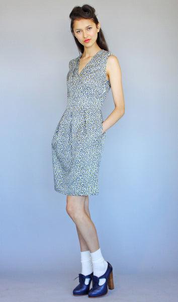 Geometric Daisy Dress