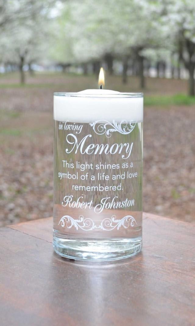 Ideas - Memorial Candle #2530589 - Weddbook