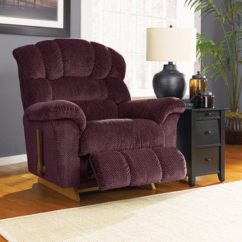 Image result for lazboy big man recliner burgendy
