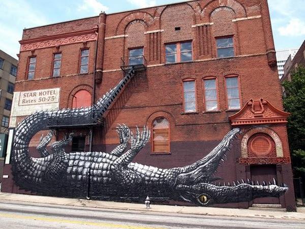 Amazing Huge Street Art on Building Walls (22)