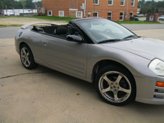 Buy Here Pay Here 2003 Mitsubishi Eclipse GS Spyder for Sale in Thomasville NC 27360 Cox Cars