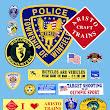 Custom embroidered patches, Custom made embroidered patches, Soccer patches, Badges and License Plates