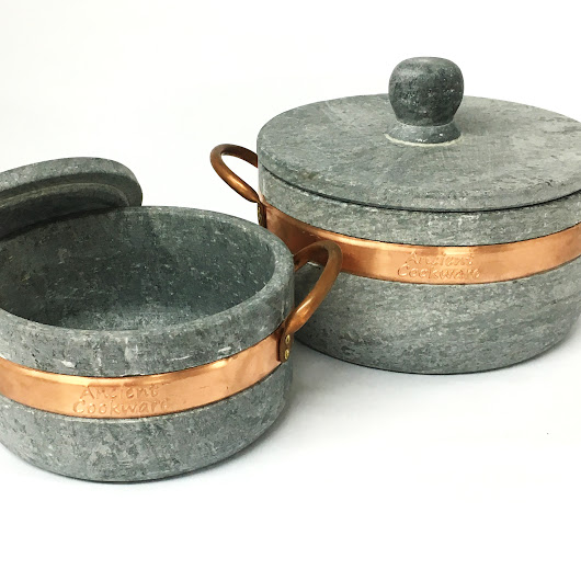 Brazilian Soapstone Stew Pot, Panela de Pedre | Ancient Cookware