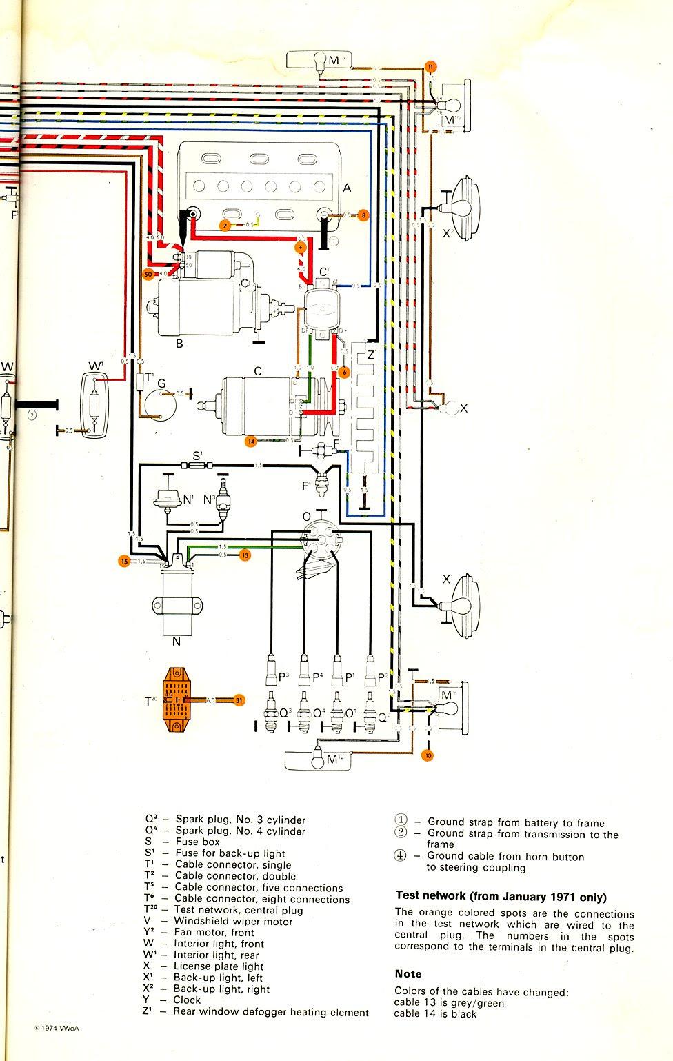 Electric Wiring Diagram 85 Vw Vanagon Wiring Diagram Local B Local B Maceratadoc It