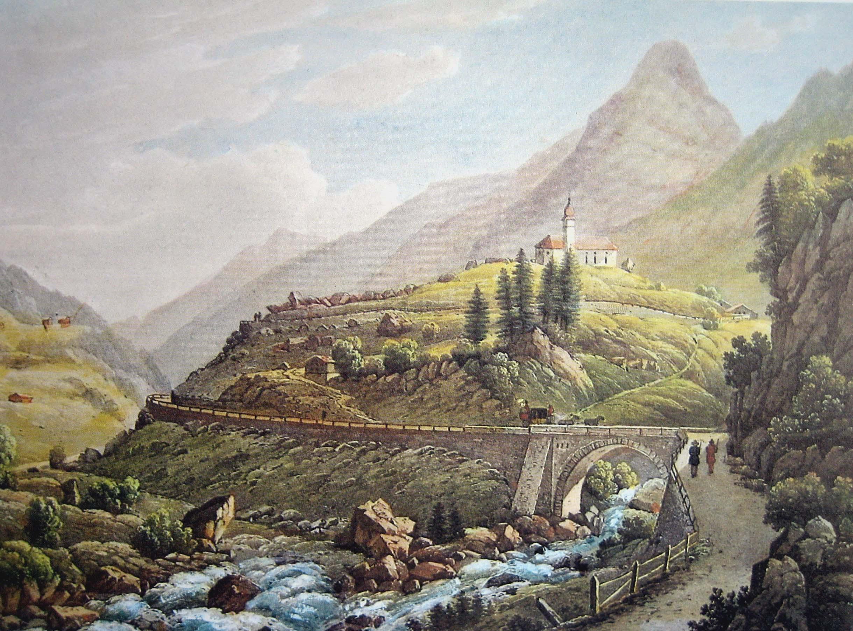 http://upload.wikimedia.org/wikipedia/commons/f/f7/Wassen_Gotthardpost_1845.jpg