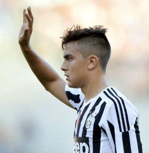 4 Of The Collest Paulo Dybala Hairstyles To Try Cool Mens Hair
