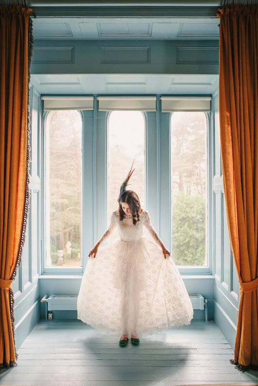 Lais & Patrick's Elopement at Glenveagh Castle and National Park, Donegal