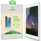 LENTION Tempered Glass Protective Film for Tablet, Compatible with iPad Pro 10.5 inch, Includes Cleaning Cloth and Mounting Stickers