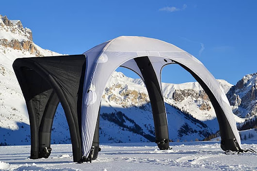 Inflatable Dome Tent | Philadelphia & California Trade Show Displays from AirborneVisuals