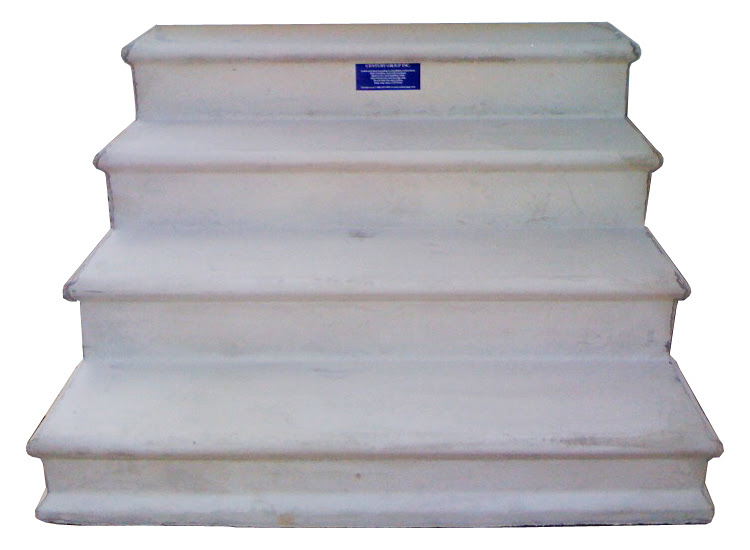 Wooden Concrete Fiberglass Steps for Mobile Homes