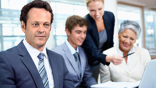 Vince Vaughn and Co-stars Pose for Idiotic Stock Photos You Can Have for Free