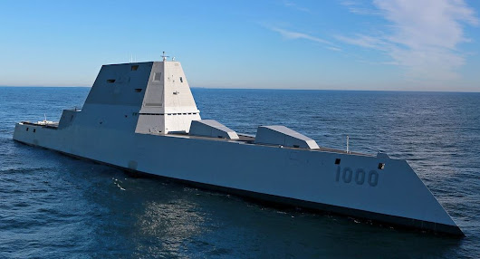 Futuristic U.S. Navy ship seen off Fort Lauderdale is commanded by Capt. James Kirk - really