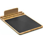 Prosumer's Choice Bamboo Multifunctional Mouse Pad and Desk Organizer with Pen Holder and Tablet or Smartphone Stand
