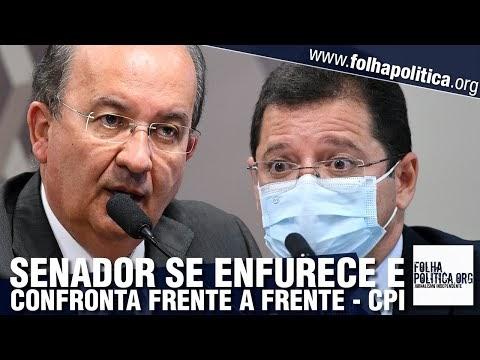 Senador Jorginho Mello se enfurece e confronta ex-secretário do Amazonas frente a frente