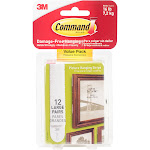 Command Hanging Strips, Picture, Large, Value Pack - 12 pairs