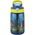 Contigo Autospout Straw Gizmo Flip Kids Water Bottle 14oz Nautical with Space