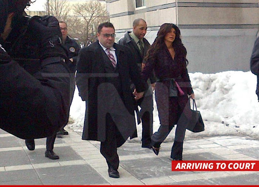 'Housewives' Star Teresa Giudice & Husband -- Plead Guilty in Bank Fraud Case