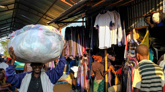 The US is fighting Rwanda over trade in clothes
