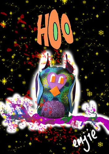 Hoo Owl card