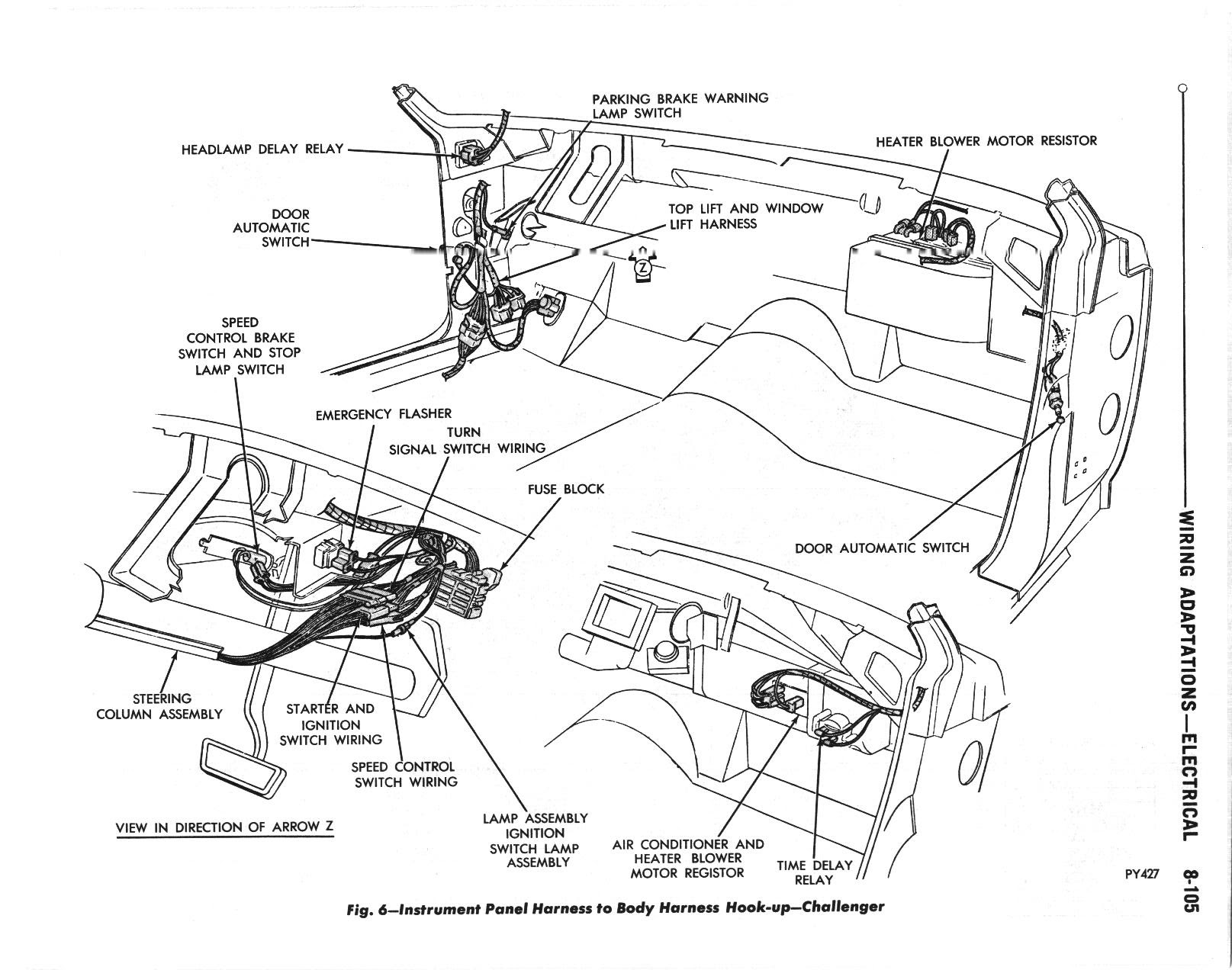 1970 Challenger Wiring Diagrams The Dodge Challenger Message Board