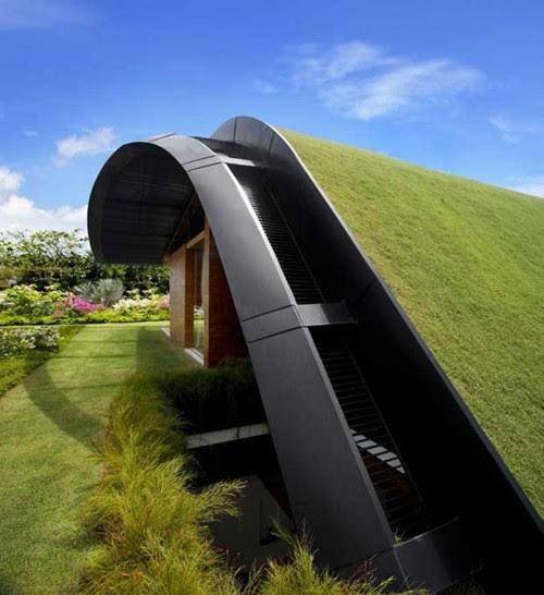 Những ngôi nhà xanh độc đáo trên thế giới | ảnh 14