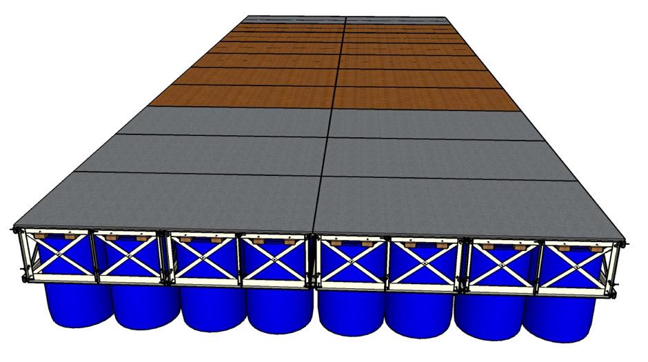 Floating Boat Dock Kits http://rollingbarge.com/floating-boat-dock-kit