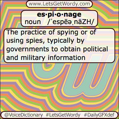 Espionage 08/08/2013 GFX Definition