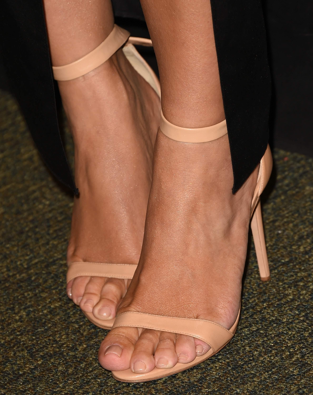 Kim Kardashian Wests Feet