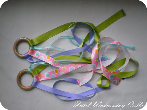 Super pretty ribbon toys!