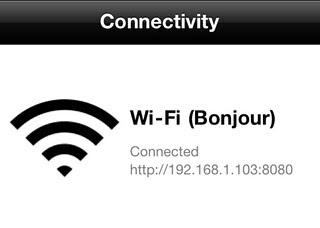 Lazy Text by Wi-Fi