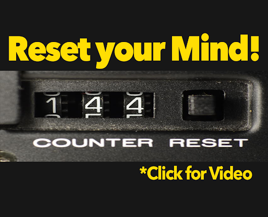 Reset Your Mind! - Word of the Week
