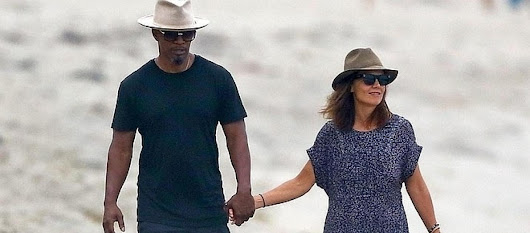 Jamie Foxx and Katie Holmes going public with relationship