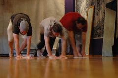 Cleaning the floor, Noh Training Project 2006
