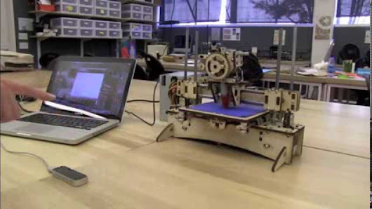 Gesture control of a 3d printer - LEAP Motion tech demos & experiments collection