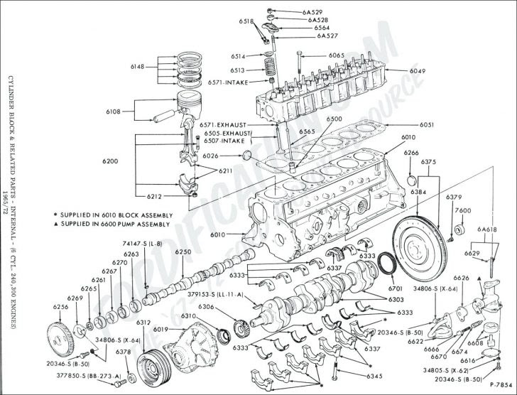 Chevy Straight Six Engine Diagram