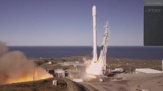 SpaceX rocket successfully lifts off - BBC News