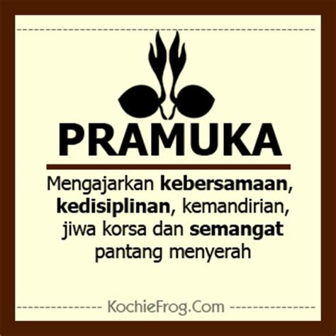 dp bbm hari pramuka  agustus  kochie frog