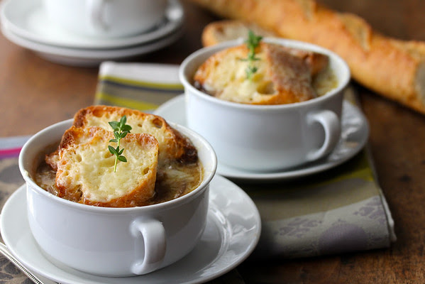 French Onion Soup from Karen's Kitchen Stories