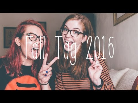 Fall Tag 2016 - Vlog