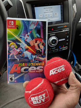 Mario Tennis Aces Comes With Exclusive Red Tennis Balls At Best Buy | My Nintendo News